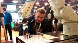 В Польше придумали робота — «собутыльника»