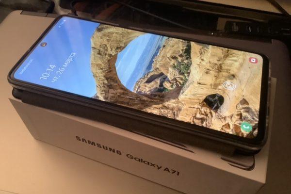 Samsung Galaxy A71, как я вернулся на тёмную сторону